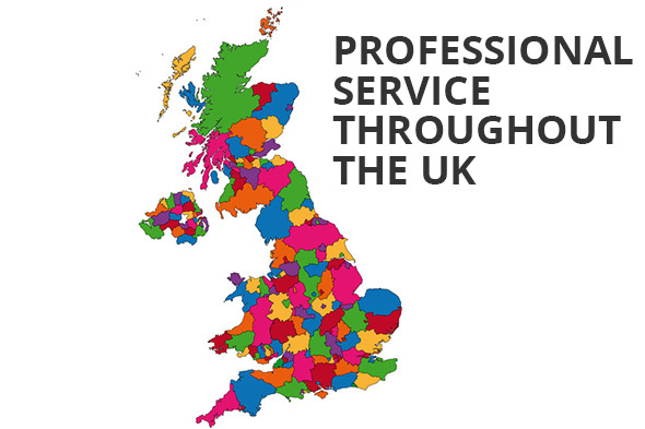Professional Services Throughout the UK